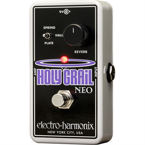 Electro Harmonix Holy Grail Neo Reverb Guitar Effects Pedal EHX